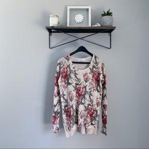 🍁BOGO 50%🍁 A&F Floral Sweater